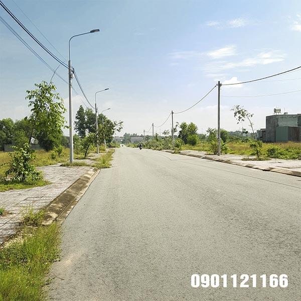 Tuyến đường 25m trong dự án hoàn thiện 100%
